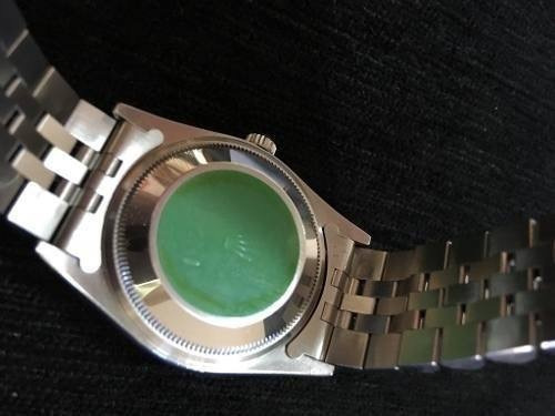 bc1143c08a3 Rolex Safira Oyster Perpetual Date Impecável Revisado - R  16.590
