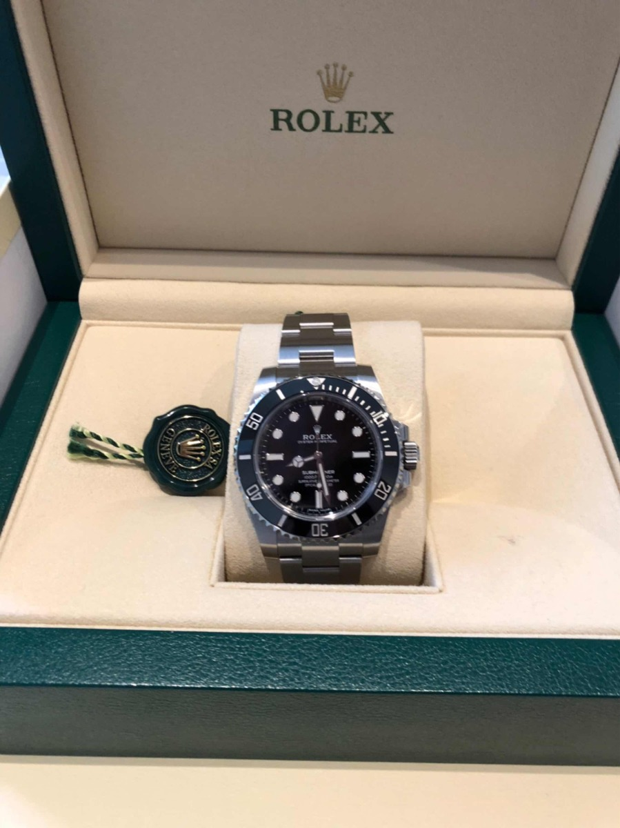 f6906836c67 Rolex Submariner 2018 No Date Novo - R  36.490