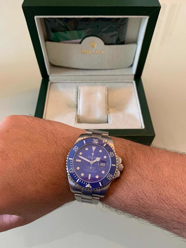 rolex submariner azul