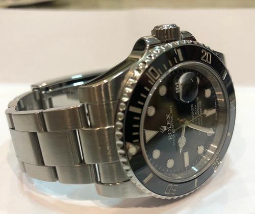 rolex submariner date 2014 - aceito troca