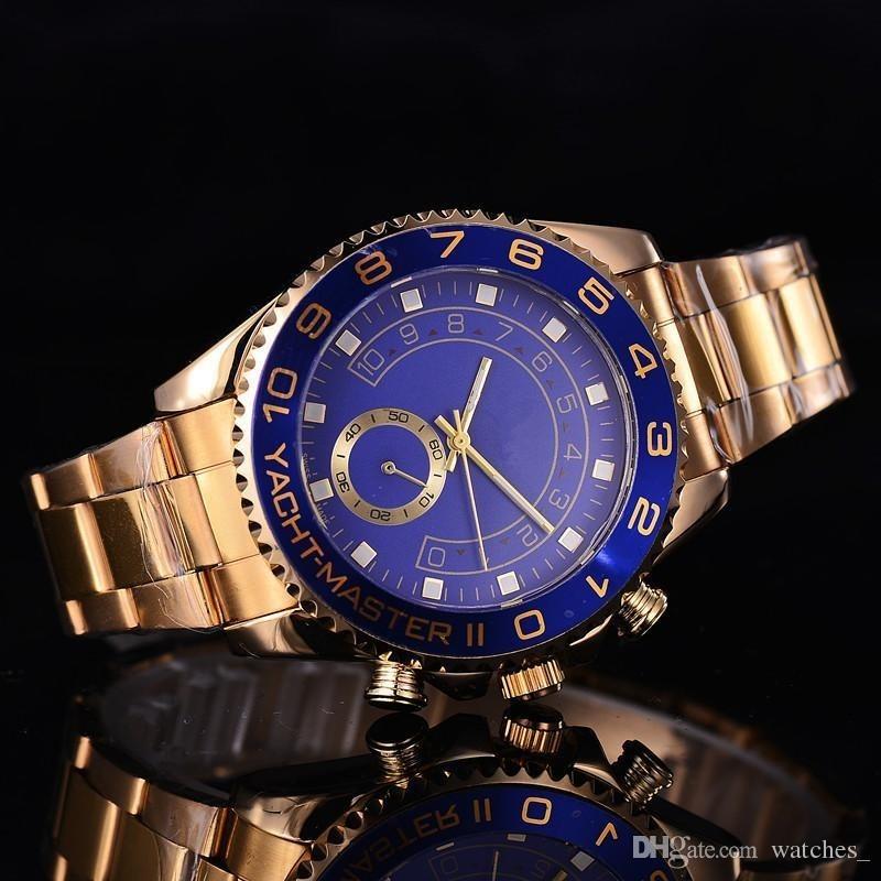47577919be4 rolex submariner dourado com 44ml. Carregando zoom.