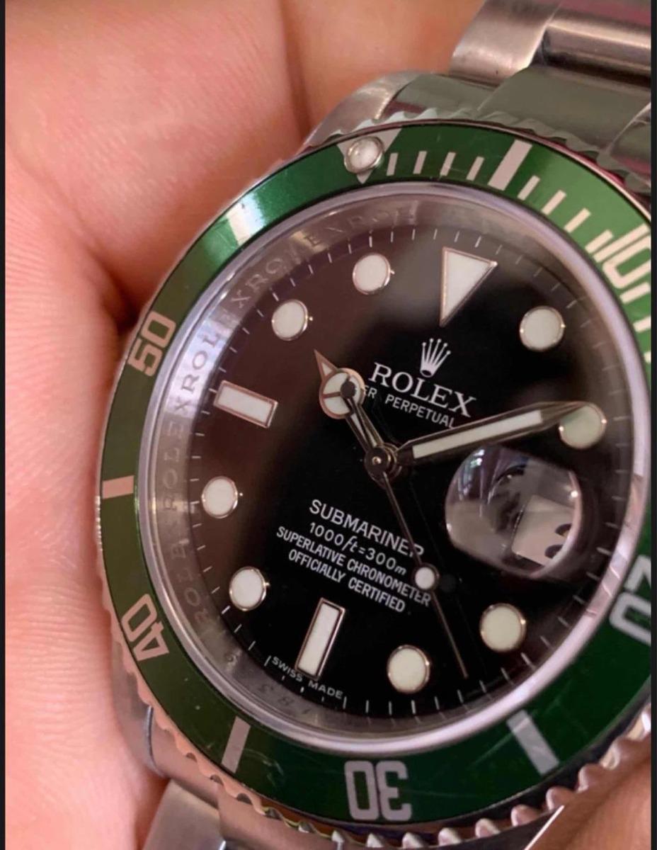 Rolex Letra M Aniversario 100Original198 00 Submariner Kermit 000 50 31cFKJTl