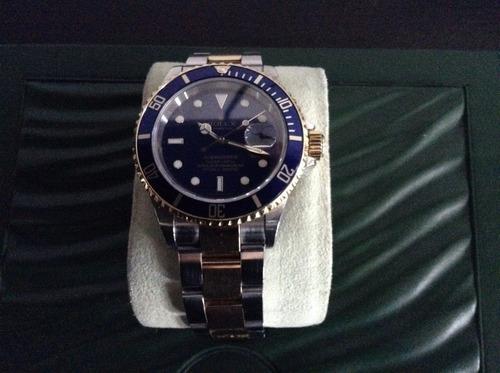 rolex submariner original 2009 oro acero impecable!