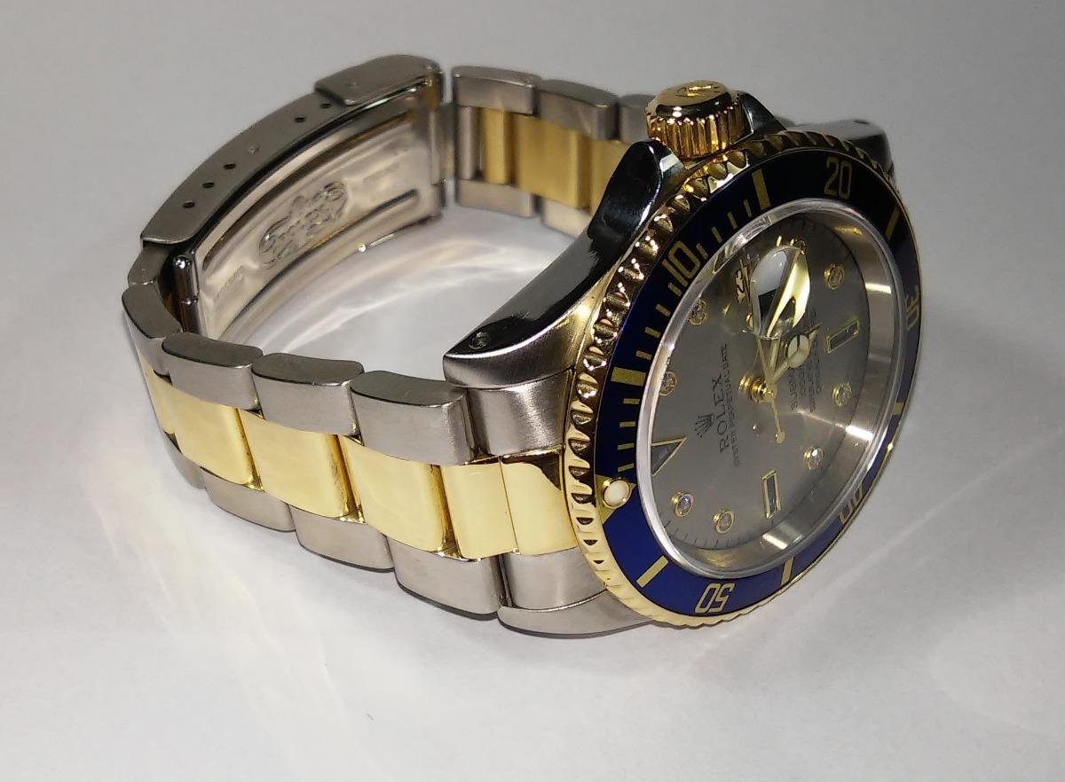 ebb7ddd724d rolex submariner sultan aço ouro diamantes safiras completo. Carregando  zoom.