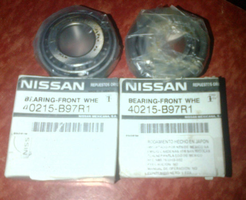 rolinera externa rueda delantera nissan pick up d21 2.4 4x2