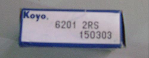 rolinera o rodamiento 6201 2rs koyo 6 pzas