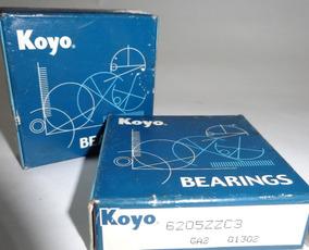 Rolinera Rodamiento 6205 Zz C3 Koyo Esk Original Industria