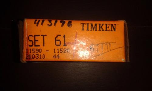 rolinera / rodamiento set 61 timkem original  (11590-11520)