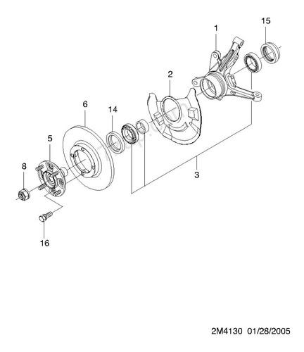 rolinera rueda delantera set 17 chevrolet spark matiz