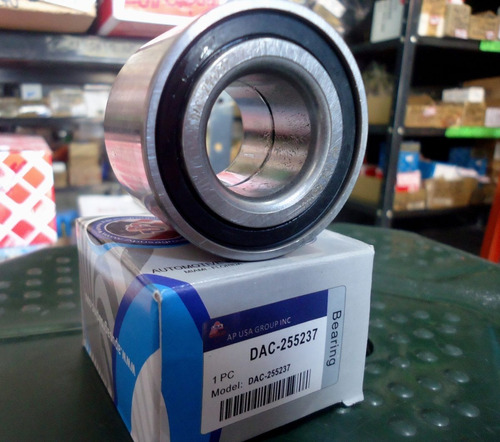 rolinera rueda trasera dac255237 52mm x 25mm alto.: 37mm