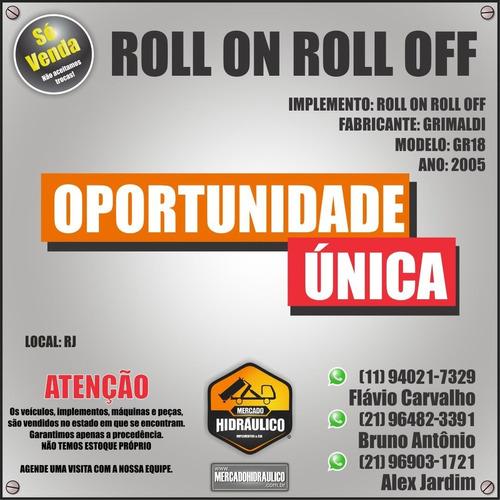 roll on roll off - gr18 grimaldi / 2005