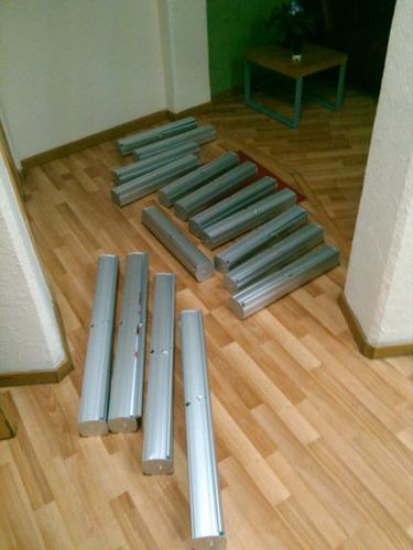 roll up 50x160 cm rollup pequeño con lona impresa calidad hd