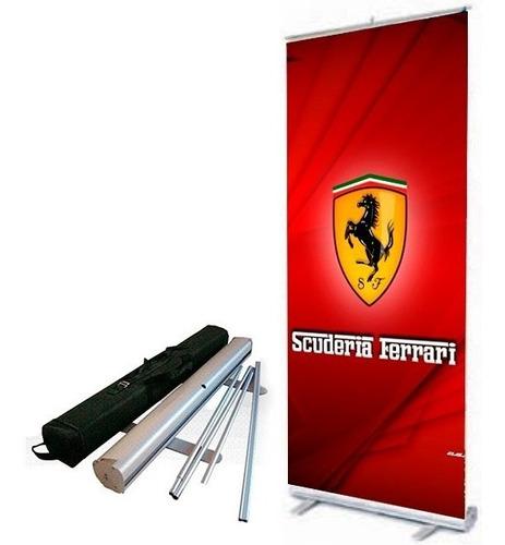 roll up banner aluminio premiun excelente calidad garantizad