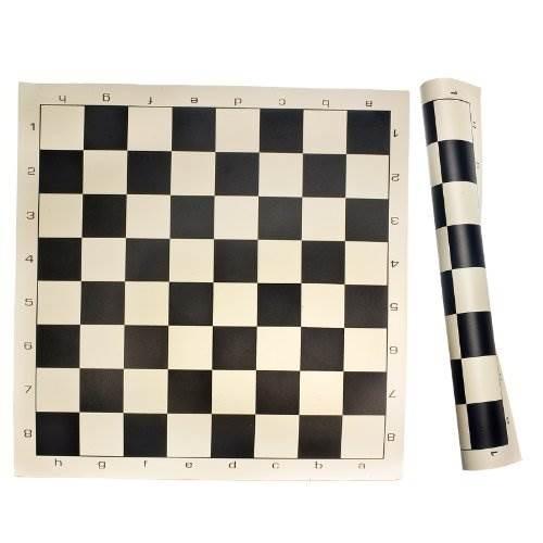 Roll Up Chess Mat Juego De Mesa Negro Talla Unica 73 990 En