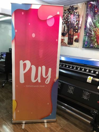 roll up, rollup banner, porta banner 200x80 super precio