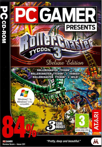 roller coaster tycoon 3 deluxe edition (juego para pc) vbf