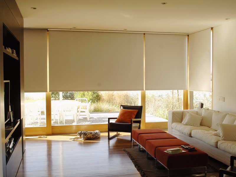 Roller cortinas blackout blanco 60 x 220 750 00 en mercado libre - Cortinas screen opiniones ...