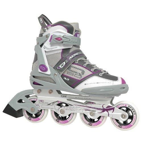 roller derby aerio q-60 patines en línea para mujer, 5