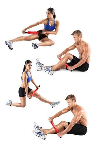 roller masajeador muscular lesión calambre crossfit