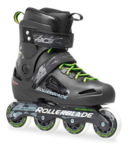 roller patín rollerblade profesional aluminio mvd sport