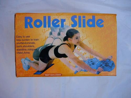 roller slide ab tonifica abdomen brazos y espalda