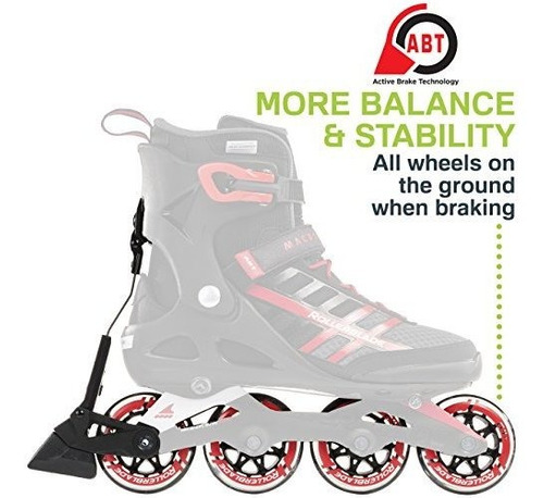 rollerblade macroblade 84 abt hombres fitness adulto patin e
