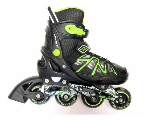rollers action extensibles abec9 ruedas silicona  bolsito