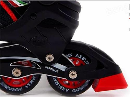 rollers ferrari fk16 aluminio ruedas de pu rodamiento abec-7