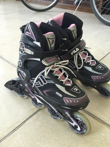 rollers fila para mujer - talle 40