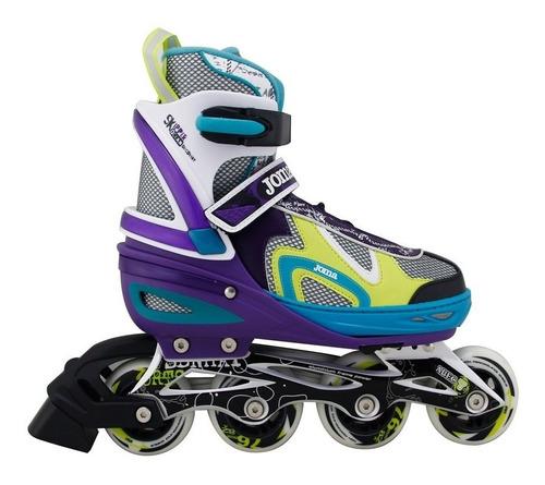 rollers joma patines extensibles geria abec7 aluminio ruedas
