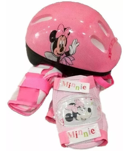 rollers patines extensibles minnie frozen disney proteccion