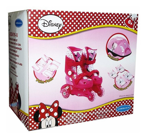 rollers patines extensibles minnie frozen proteccion full