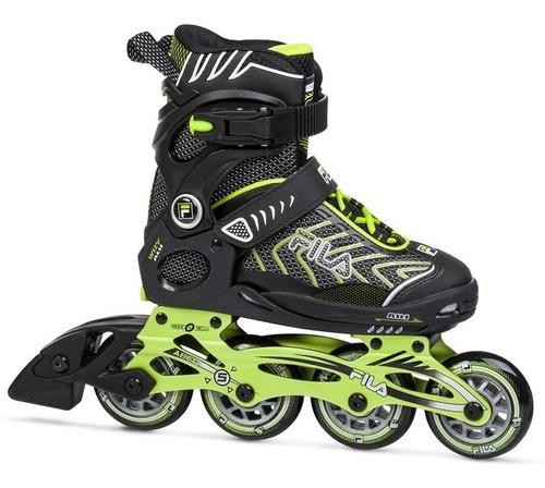 rollers patines fila wizy alu extensible abec 5 - estacion deportes olivos