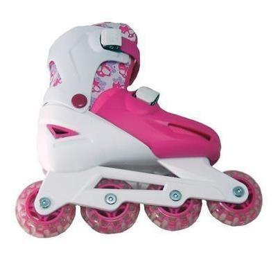 rollers ruedas en linea para niñas con freno jem + cuotas!