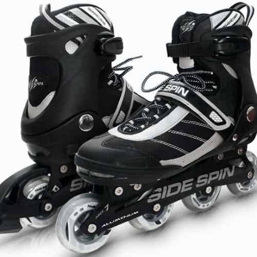 rollers side spin ez-life importados aluminio abec7 ruedas