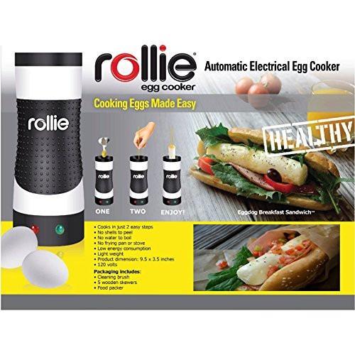 rollie hands la última tecnología para cocinar huevos