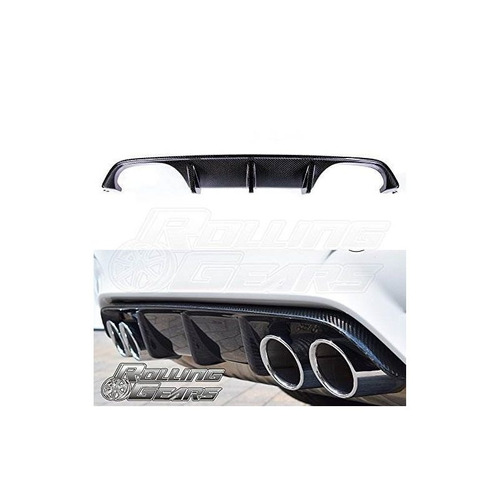rolling gears m performance tipo difusor trasero de fibra de