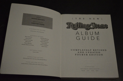 rolling stone album guide livro