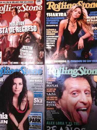 rolling stone revistas coleccion pregunta precio real x num