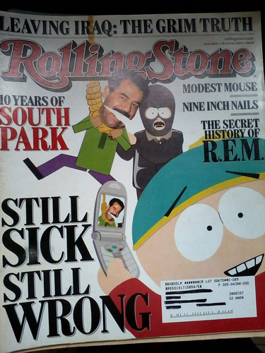 rolling stone usa - south park
