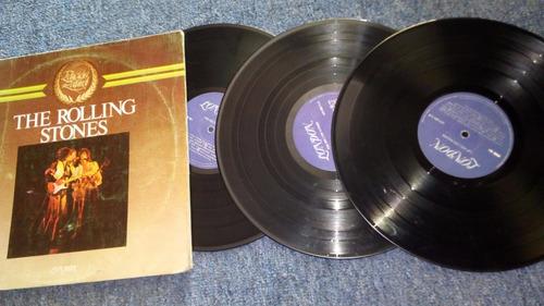 rolling stones 3lps edición laurel