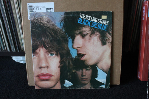 rolling stones black and  blue  importado lp