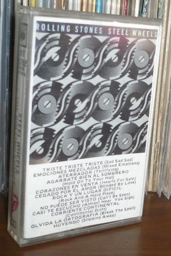 rolling stones cassette steel wheels