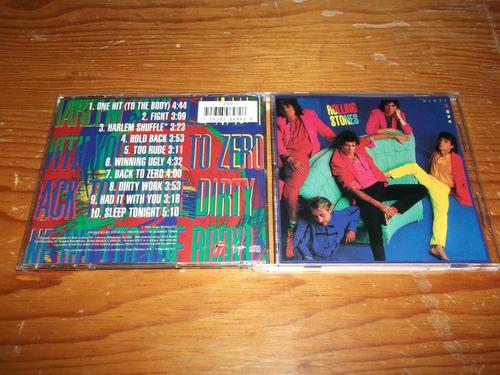 rolling stones - dirty work cd nacional ed 1994 mdisk