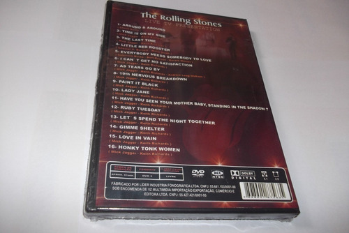 rolling stones dvd live presentation lacrado!