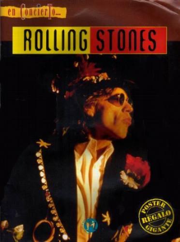rolling stones en concierto gijon españa 22 julio de 1995