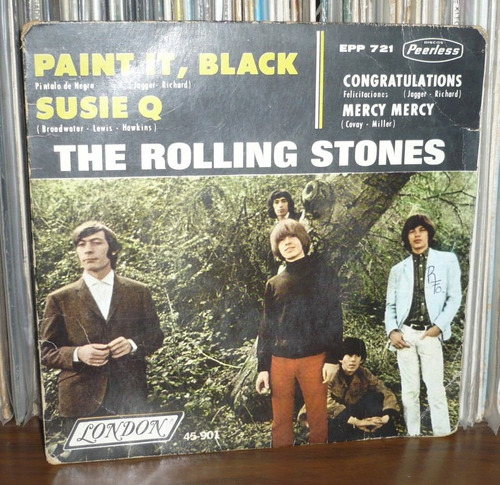 rolling stones ep paint it black / sussie q