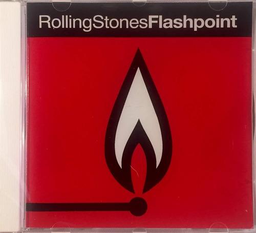 rolling stones - flashpoint - cd importado usa 1991 lacrado