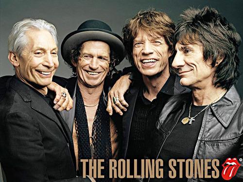 rolling stones lienzografía lienzo impresión  60x90  poster