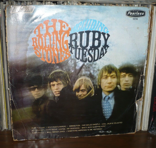 rolling stones lp ruby tuesday